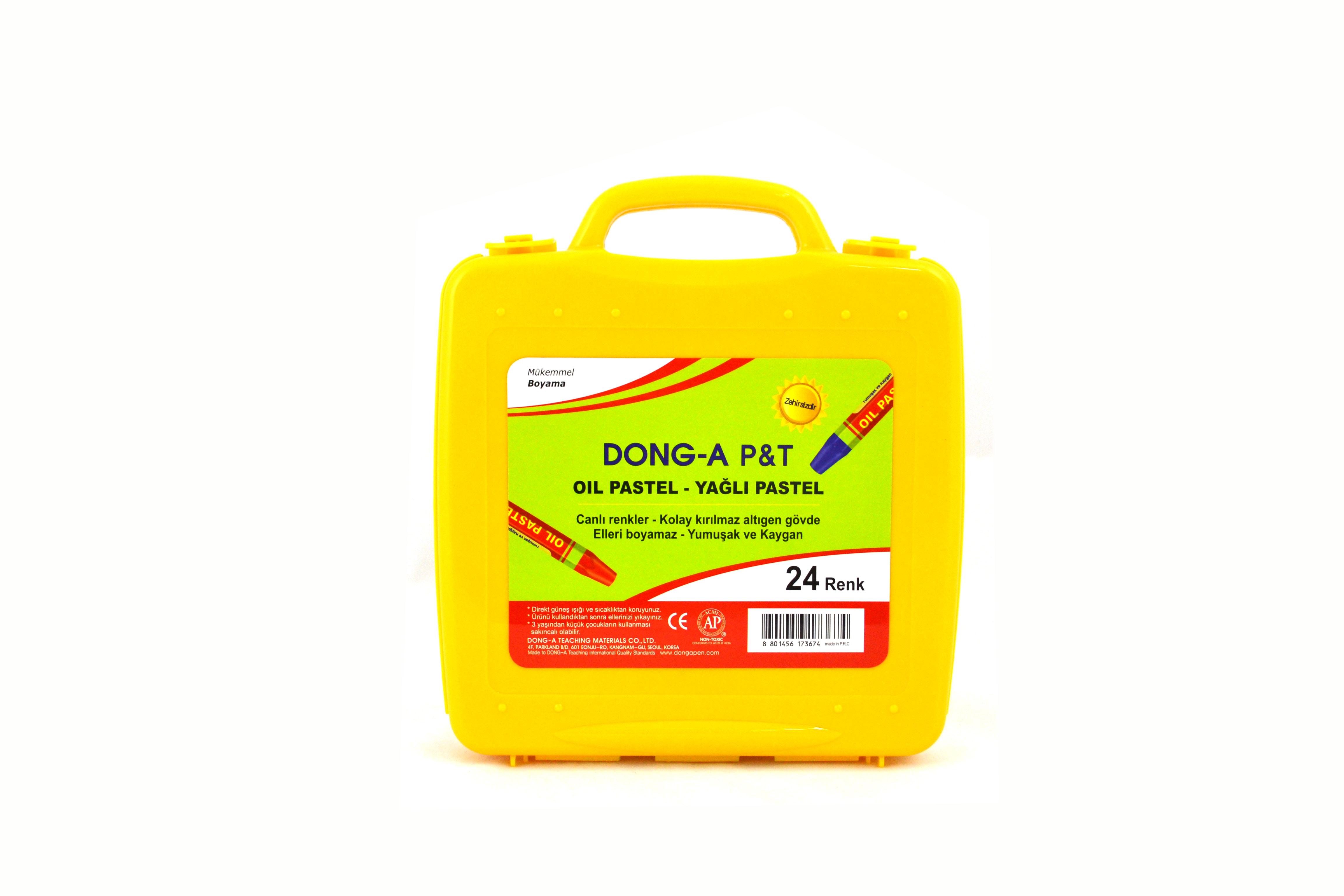 Donga 24 Renk Pastel Boya Prof Cantali 262124 Kaya Kirtasiye