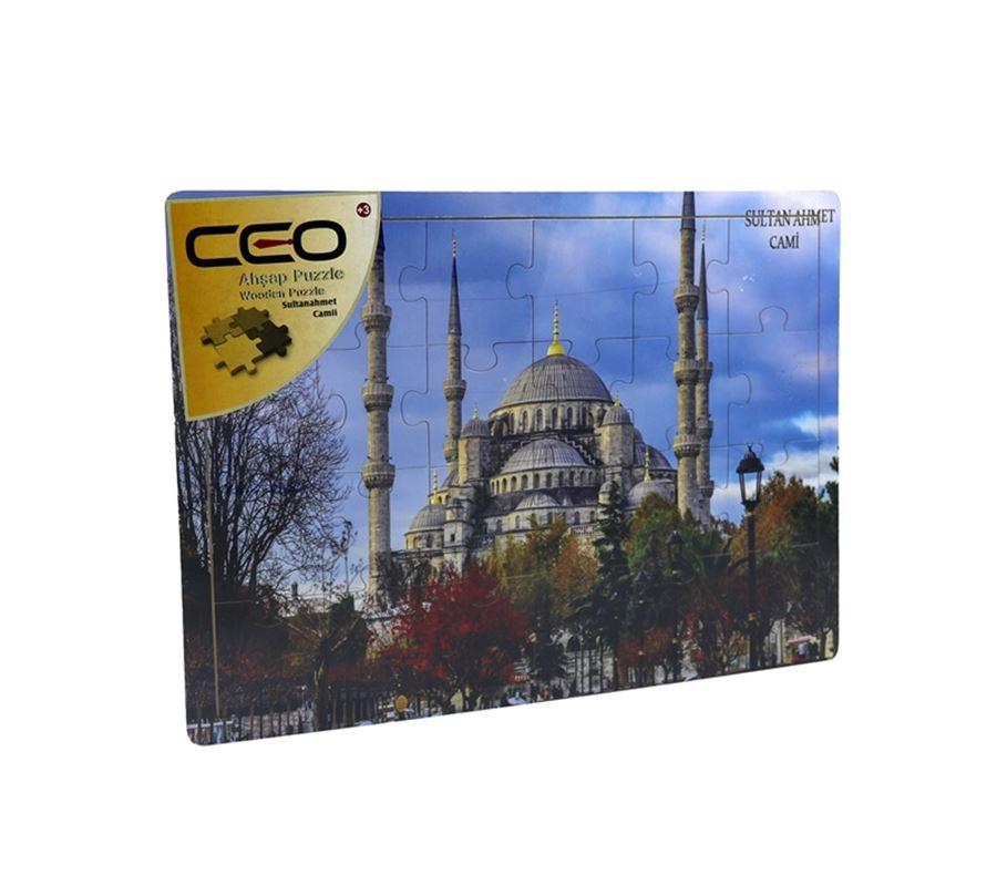 Ceo Ap0012 Ahsap Puzzle S Ahmet Camii Kaya Kirtasiye