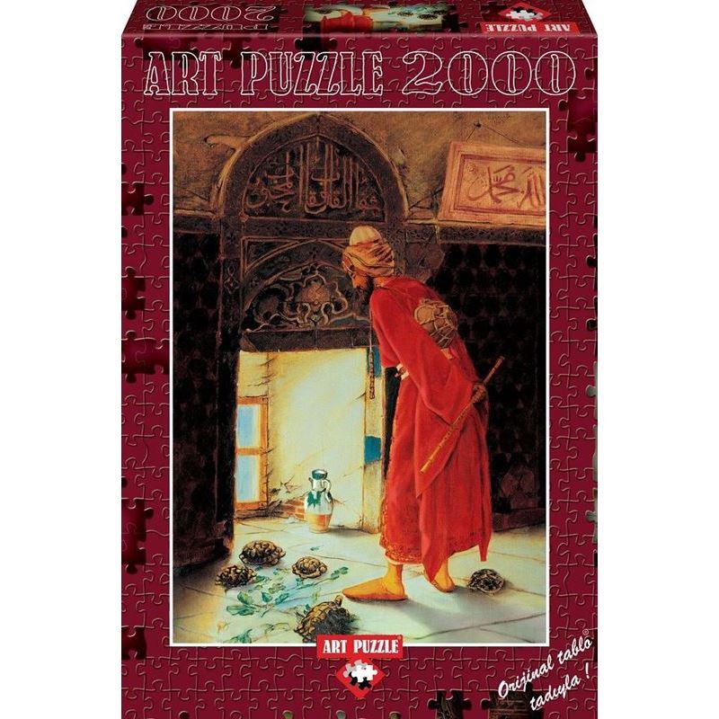 Art 4713 Kaplumbaga Terbiyecisi 2000 Prc Puzzle Kaya Kirtasiye
