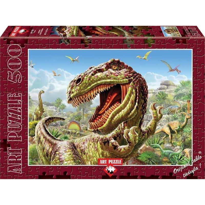 Art 4170 T Rex 500 Prc Puzzle Kaya Kirtasiye