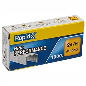RAPİD 24855800 24/6mm STRONG ZIMBA TELİ 1000 Lİ
