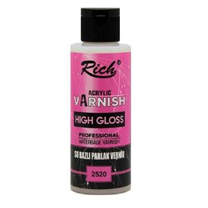 RICH HIGH GLOSS SU BAZLI VERNİK PARLAK 2491 130 cc