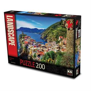 Ks Games 11330 A Life Style Italy 200 Parça Puzzle