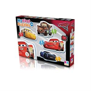 Ks Games Cr10304 Cars My First Puzzles 4 In 1 Puzzle